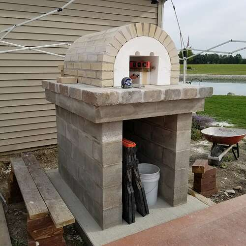 How To Make A Brick Oven (3)