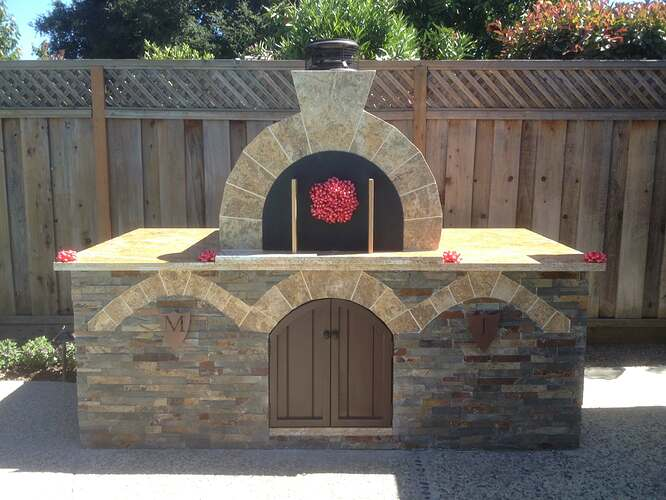 Outdoor Gas Pizza Oven (57)