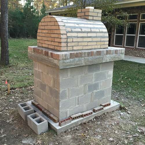 How To Build a Brick Oven (22)