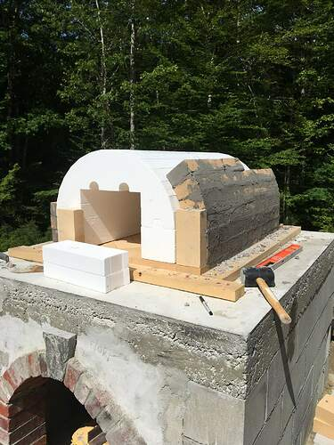 How To Build A Wood Fired Pizza Oven (40)