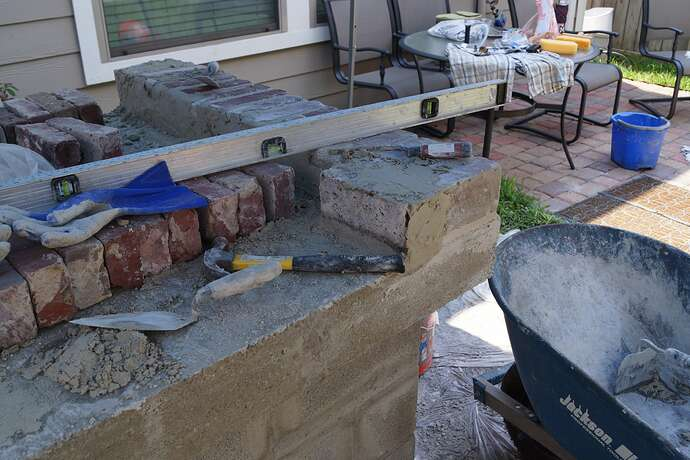 Refractory Cement Pizza Oven (70)