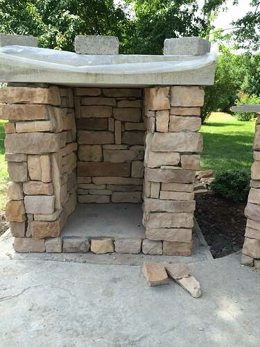 Making An Outdoor Pizza Oven (8)