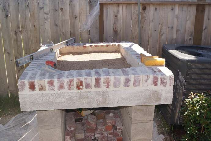 Refractory Cement Pizza Oven (75)