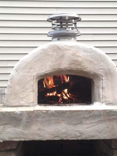 How To Build An Outdoor Brick Oven (82)