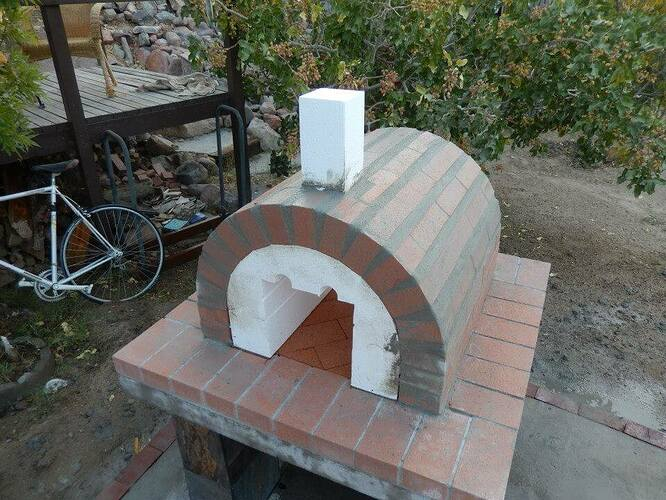 Build Your Own Brick Pizza Oven (19)