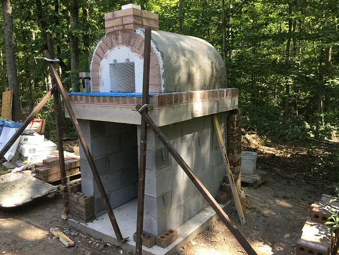 Wood Fired Brick Oven (66)