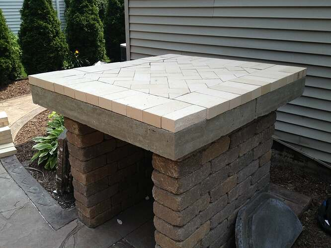 How To Build An Outdoor Brick Oven (59)