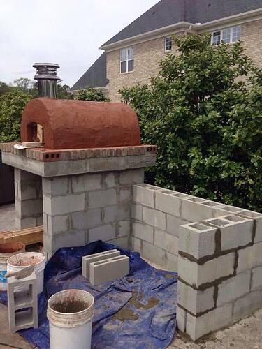 Build A BBQ And Pizza Oven (15)