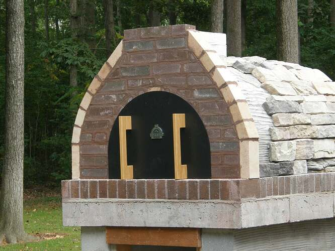 How To Make An Outdoor Pizza Oven (63)