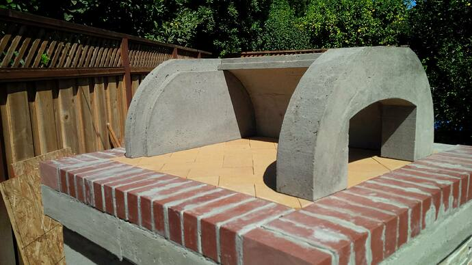 DIY Wood Fired Pizza Oven (39)