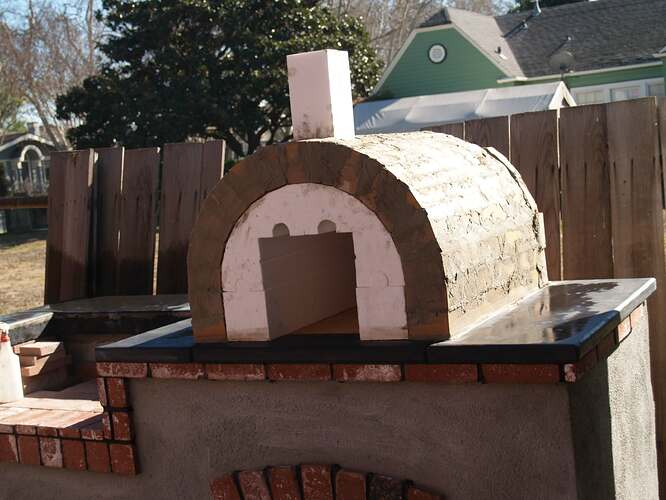 How To Build a Brick BBQ and Pizza Oven (14)
