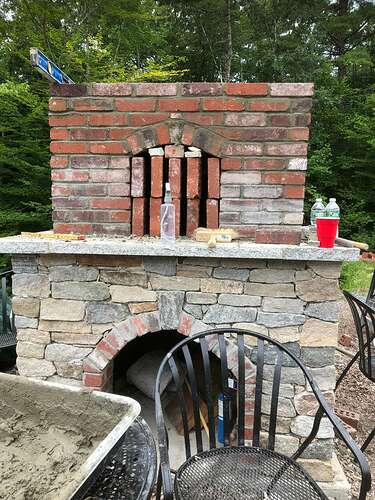 How To Build A Wood Fired Pizza Oven (70)