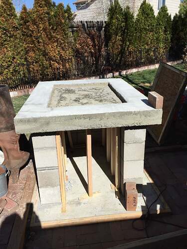 Homemade Outdoor Pizza Oven (22)