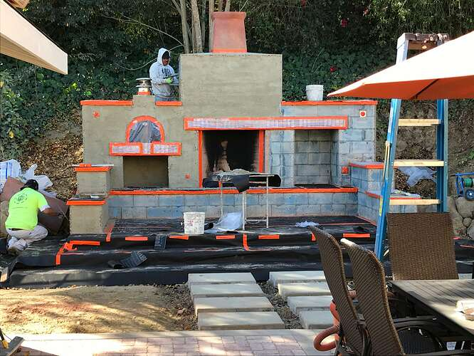 Pizza Oven and Fireplace (8)