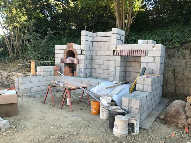 Pizza Oven and Fireplace (6)