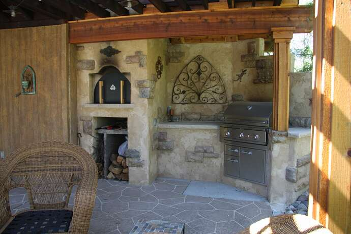 Wood Fired Pizza Oven and BBQ (23)