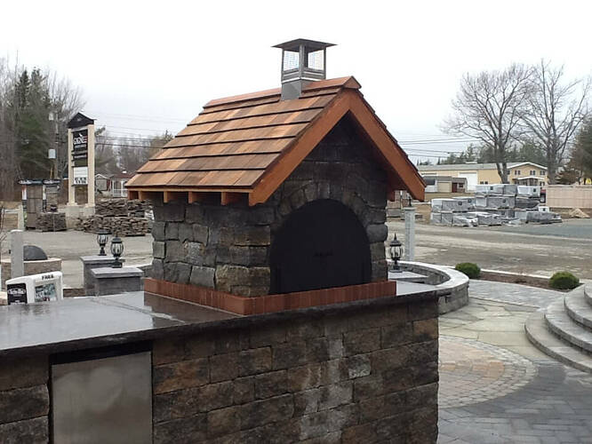 Pizza Oven Gable Roof (1)