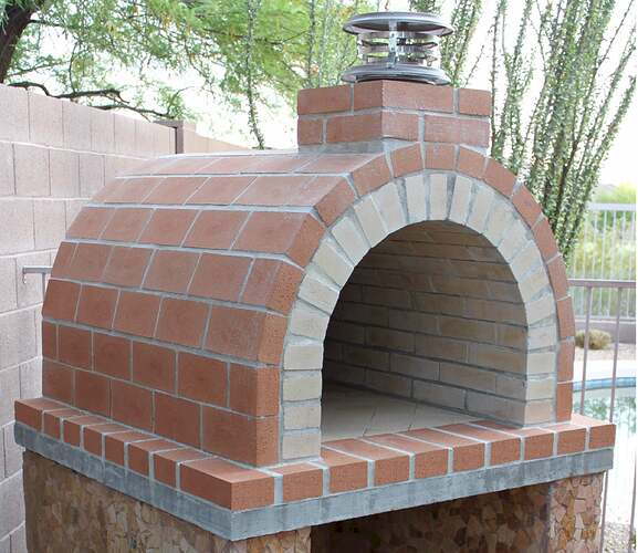 How To Build a Wood Fired Brick Oven (10)