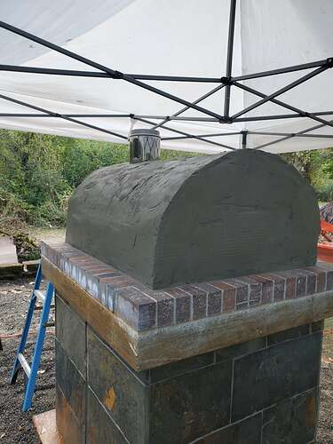 Outdoor Wood Burning Pizza Oven (22)