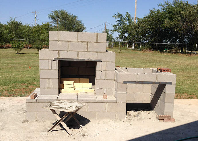 Large Outdoor Fireplace (3)