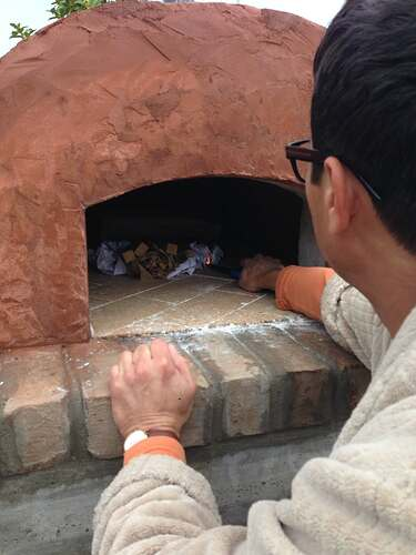 Build A BBQ And Pizza Oven (18)