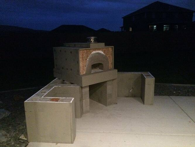 How To Build A Wood Fired Oven (27)
