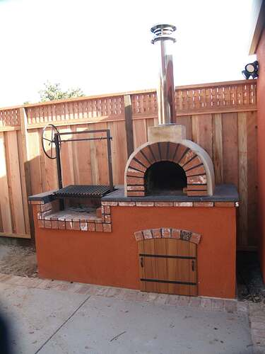 How To Build a Brick BBQ and Pizza Oven