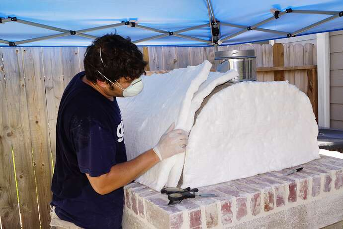 Refractory Cement Pizza Oven (98)