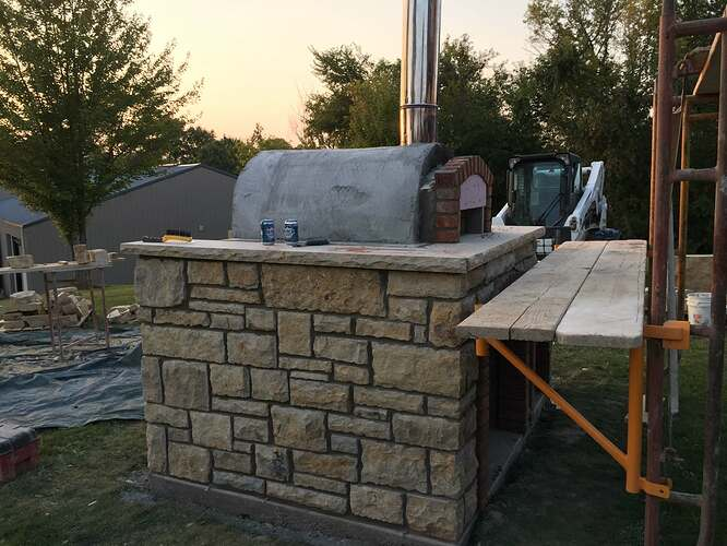 Build Your Own Outdoor Pizza Oven (32)