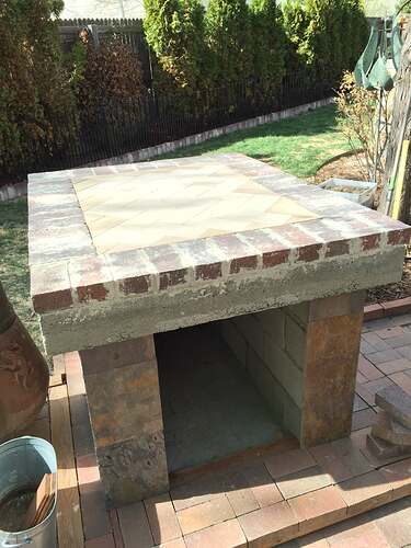 Homemade Outdoor Pizza Oven (28)