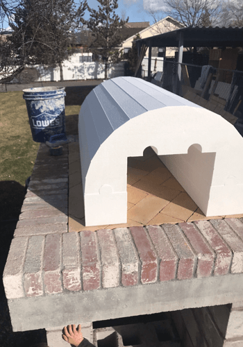 Pizza Oven Fireplace Combo (8)
