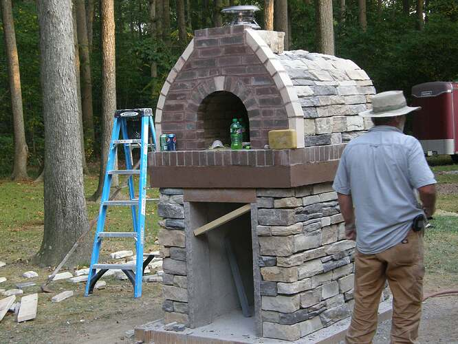 How To Make An Outdoor Pizza Oven (69)