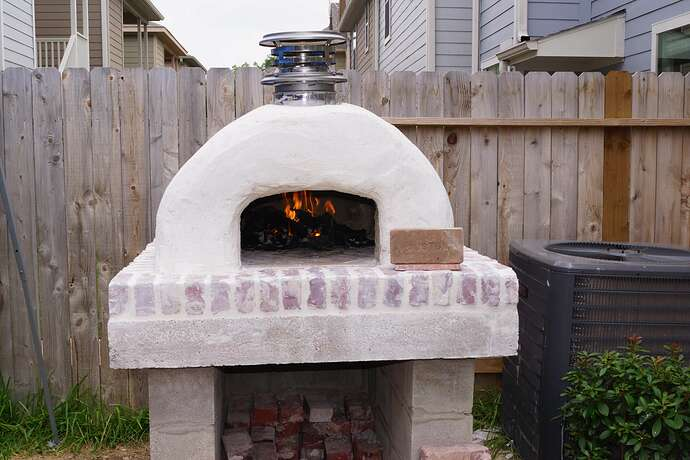 Refractory Cement Pizza Oven (120)