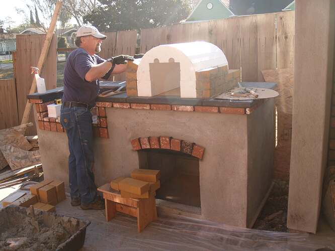 How To Build a Brick BBQ and Pizza Oven (11)