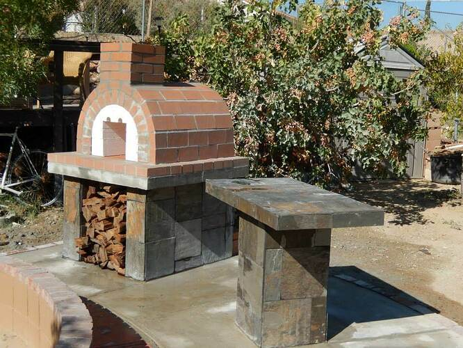 Build Your Own Brick Pizza Oven (25)