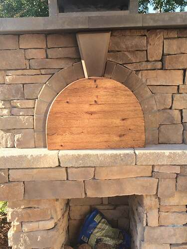 Making An Outdoor Pizza Oven (40)