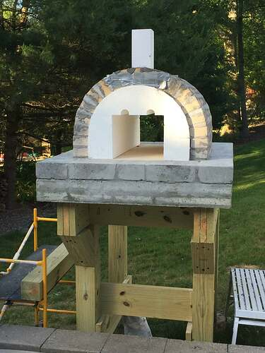 Building a Wood Fired Pizza Oven (18)