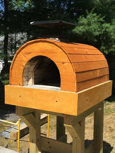 Building a Wood Fired Pizza Oven (48)