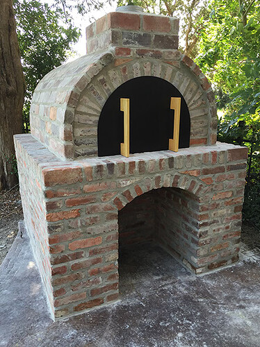 clark wood fired outdoor brick pizza oven by brickwood outdoors