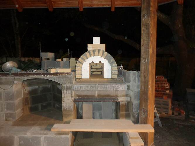 Outdoor Natural Stone Fireplace (3)