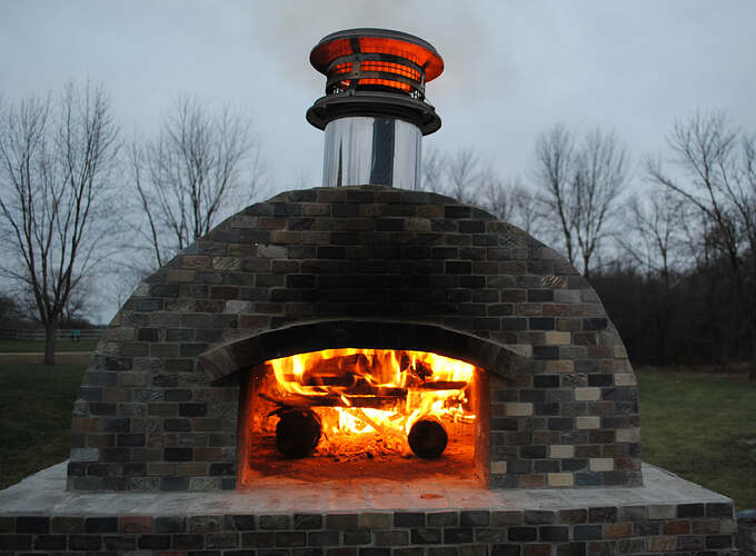 Outdoor Wood Fired Pizza Oven (58)