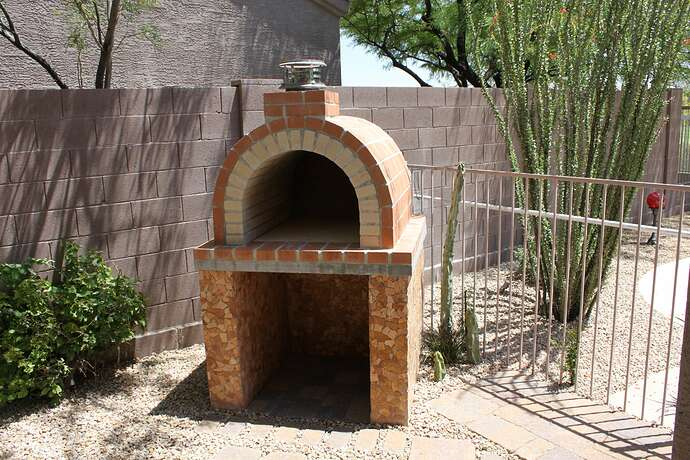 How To Build a Wood Fired Brick Oven (13)