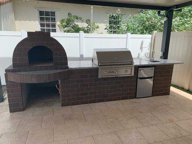 Combination Grill Smoker Pizza Oven (9)