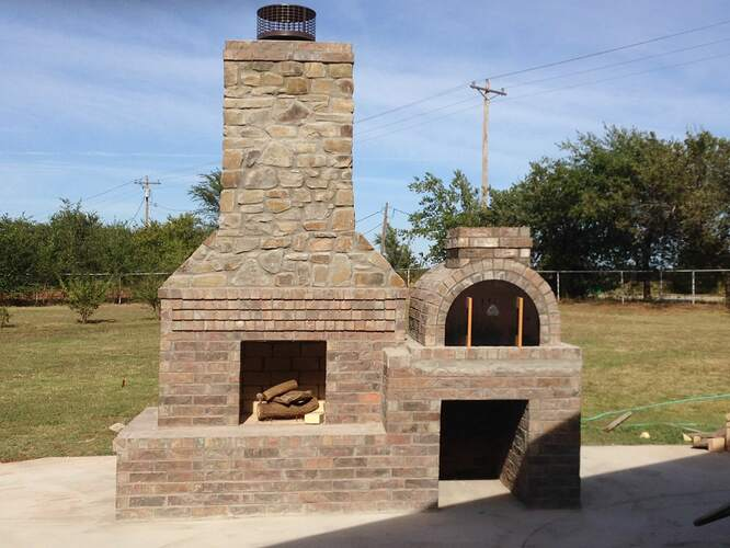 Large Outdoor Fireplace (11)