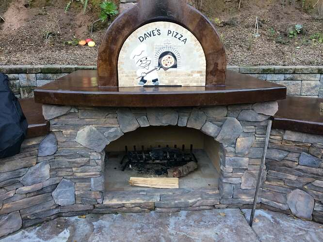Pizza Oven Over Fireplace (28)