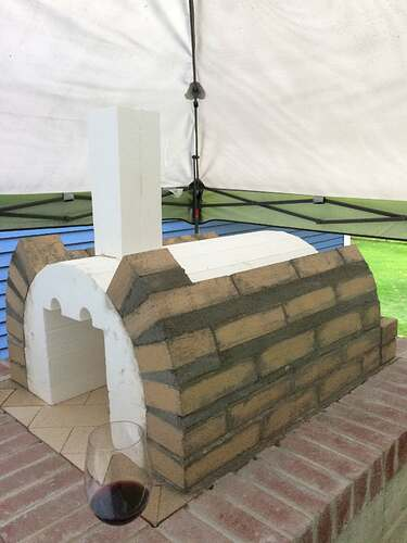 How To Make A Wood Fired Pizza Oven (28)