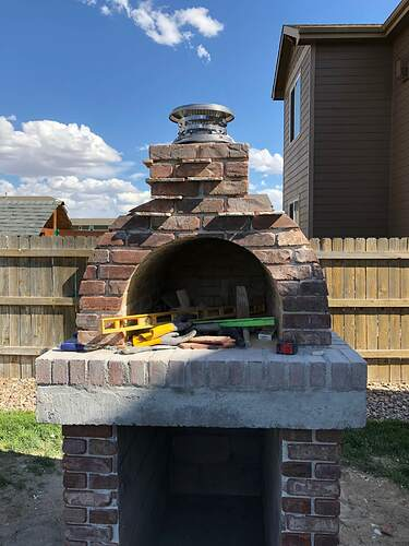 Building An Outdoor Wood Fired Oven (31)