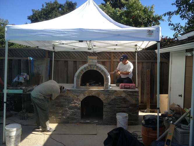 Outdoor Gas Pizza Oven (39)