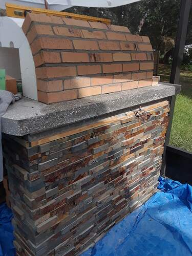Building A Pizza Oven (99)