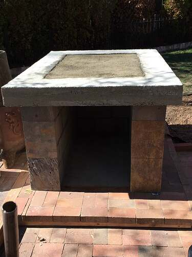 Homemade Outdoor Pizza Oven (23)